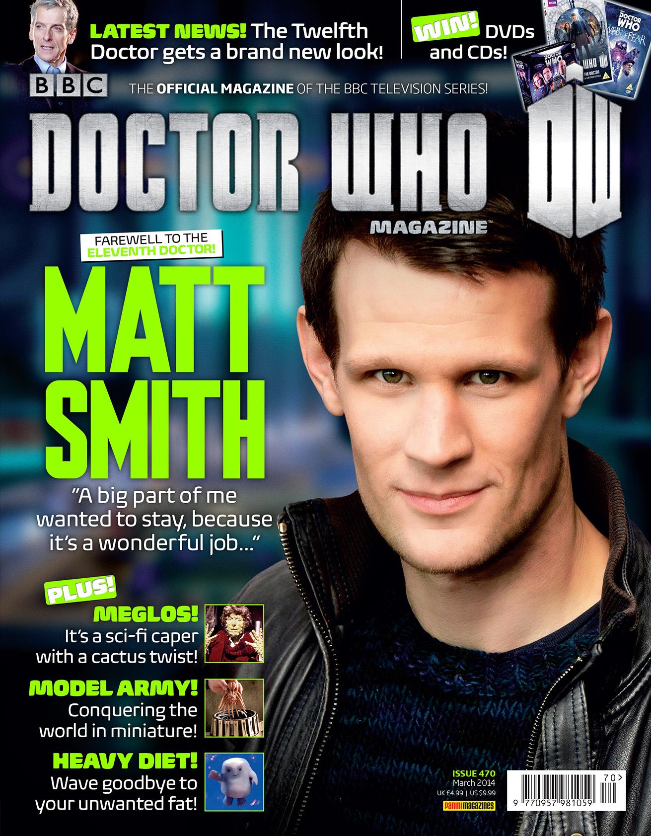 Doctor Who Magazine 470