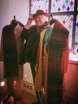 Tom Baker and Scarf 3 (Credit: Melad Moshiri)