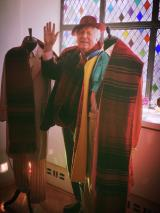 Tom Baker and Scarf 2 (Credit: Melad Moshiri)