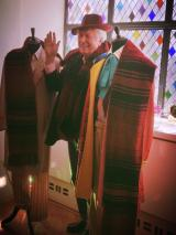 Tom Baker and Scarf 1 (Credit: Melad Moshiri)