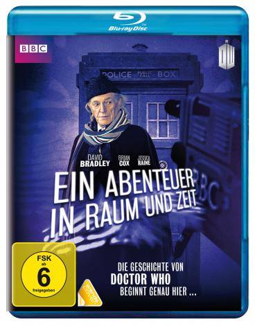 An Adventure In Space and Time (German cover)