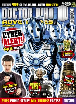 Doctor Who Adventures Magazine 347