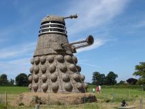 Straw Dalek (Credit: Adrian Wilks)