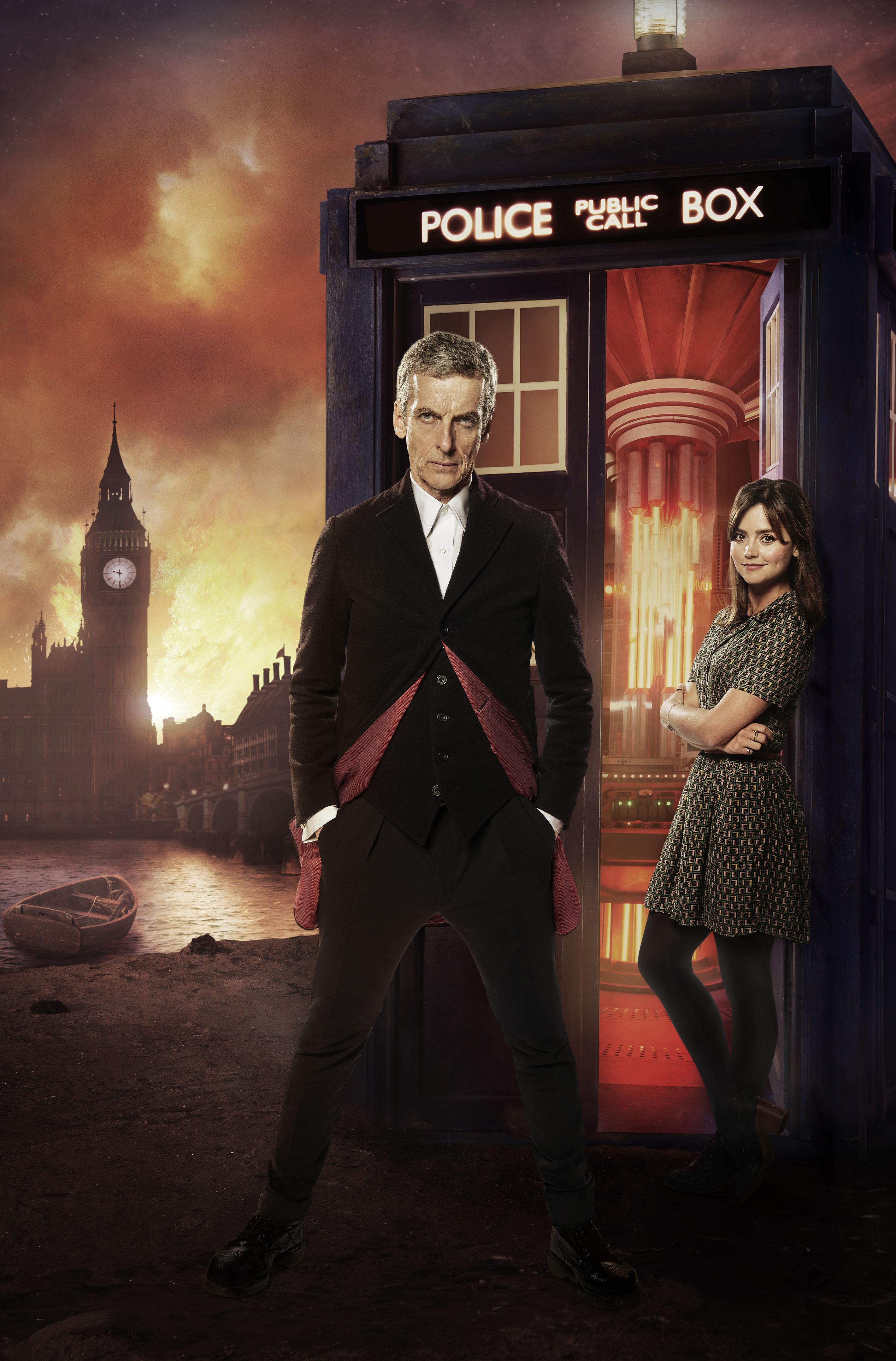 The Doctor (Peter Capaldi) and Clara (Jenna Coleman) (Credit: BBC)