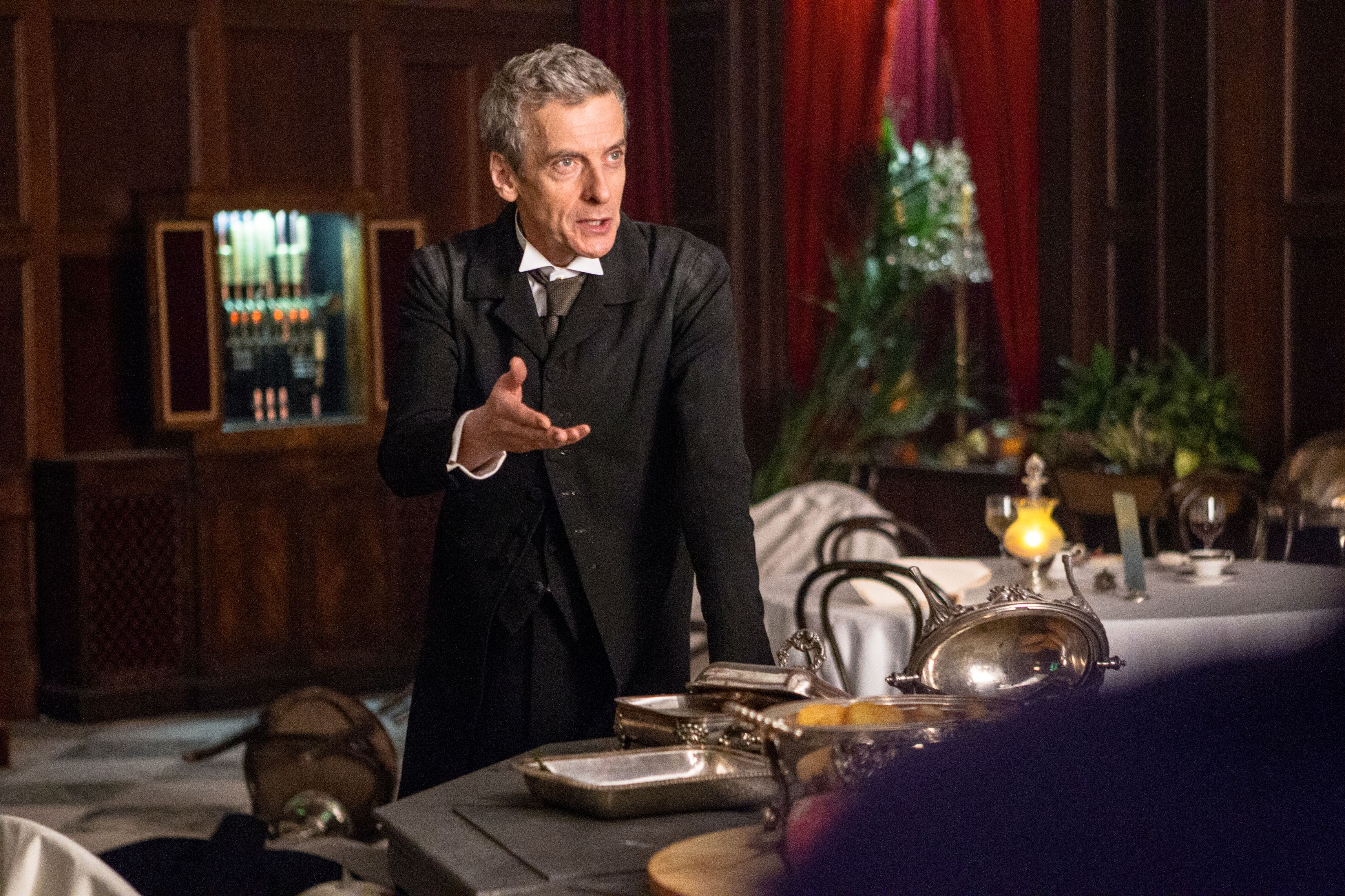The Doctor (Peter Capaldi) (Credit: BBC/BBC Worldwide 2014)