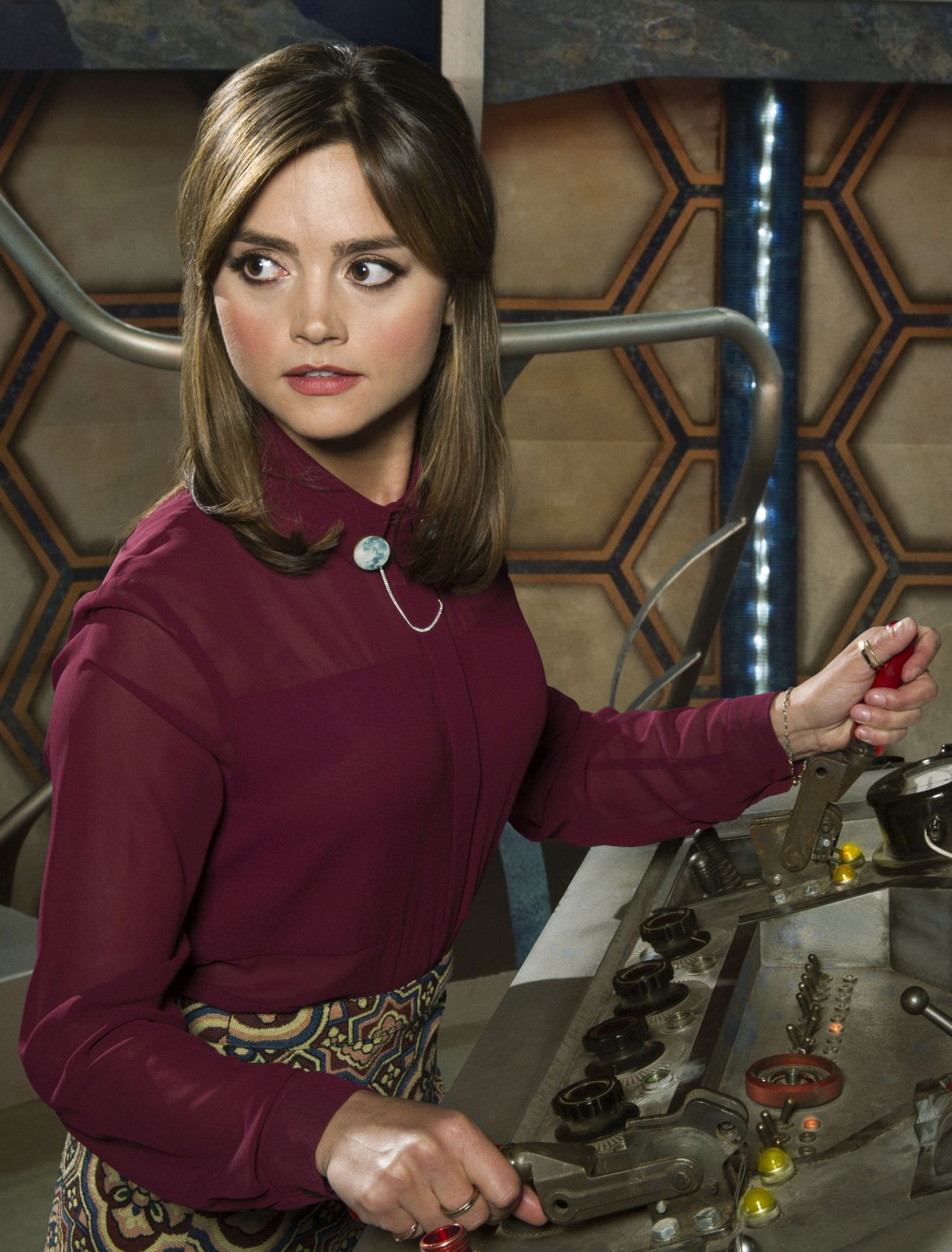 Clara (Jenna Coleman) (Credit: BBC)