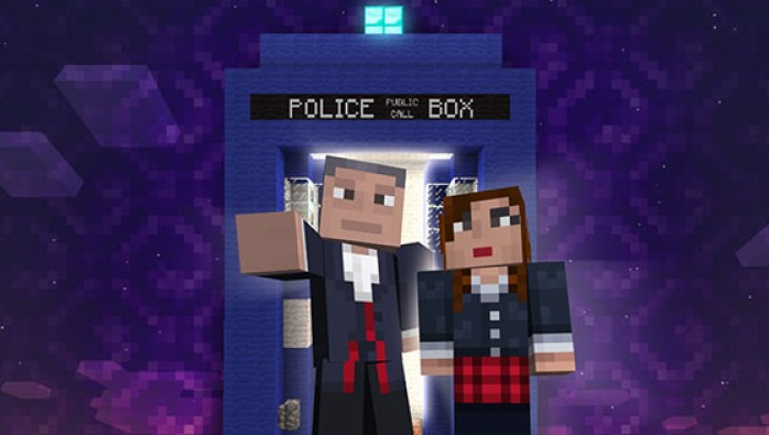 The Twelfth Doctor on Minecraft (Credit: BBC Worldwide)