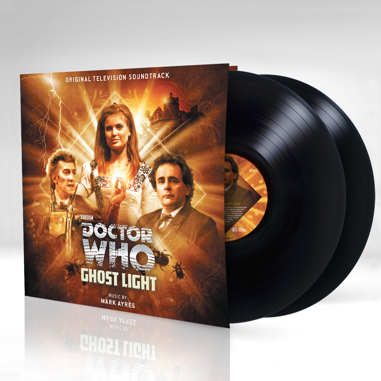 Ghost Light (vinyl) (Credit: Silva Screen)