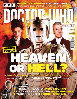 Doctor Who Magazine Issue 479 (Credit: DWM)
