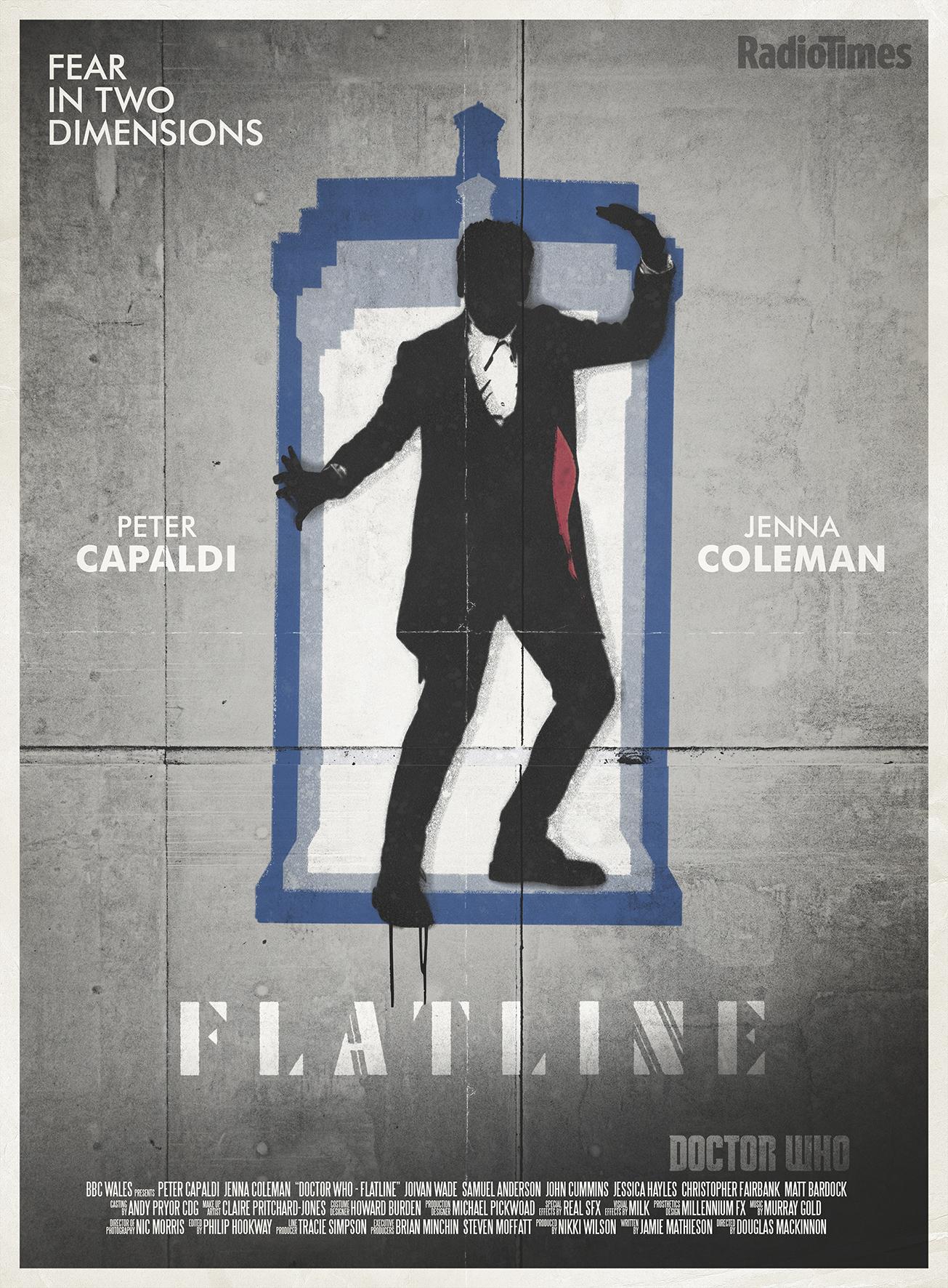 Flatline - Poster (Credit: Radio Times/Stuart Manning)