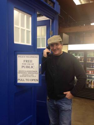 Crossroads TARDIS (Credit: Alex Frazer-Harrison)
