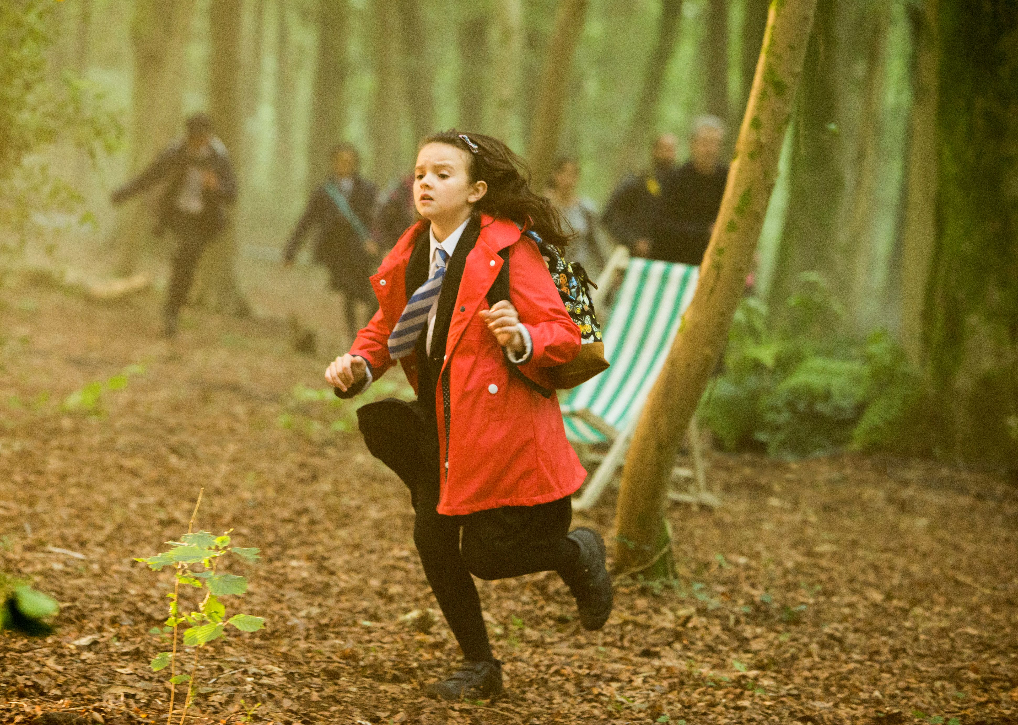In the Forest of the Night - Maebh (Abigail Eames)  (Credit: Adrian Rogers, BBC/BBC Worldwide 2014)