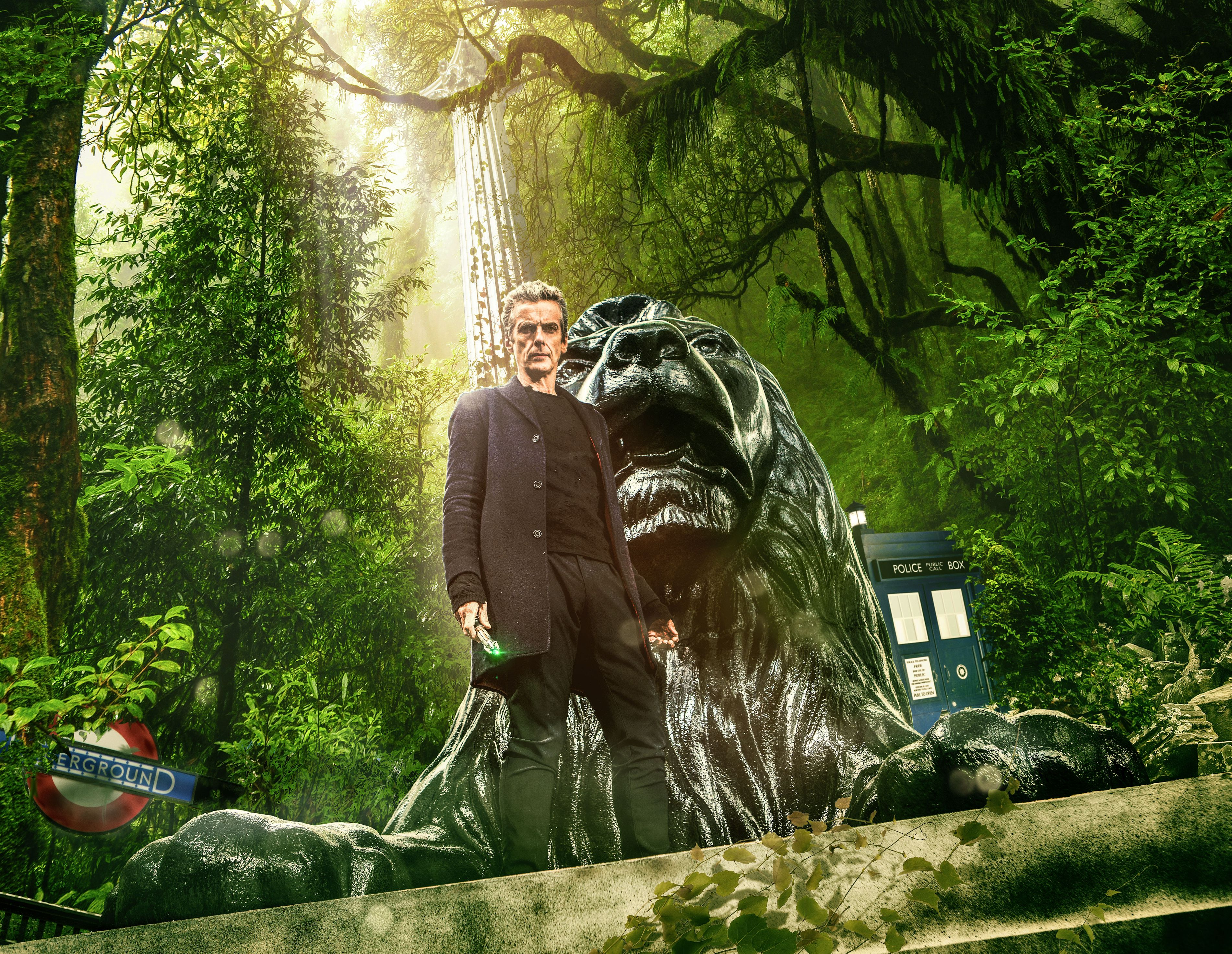 In the Forest of the Night - The Doctor (Peter Capaldi) (Credit: Adrian Rogers, BBC/BBC Worldwide 2014)