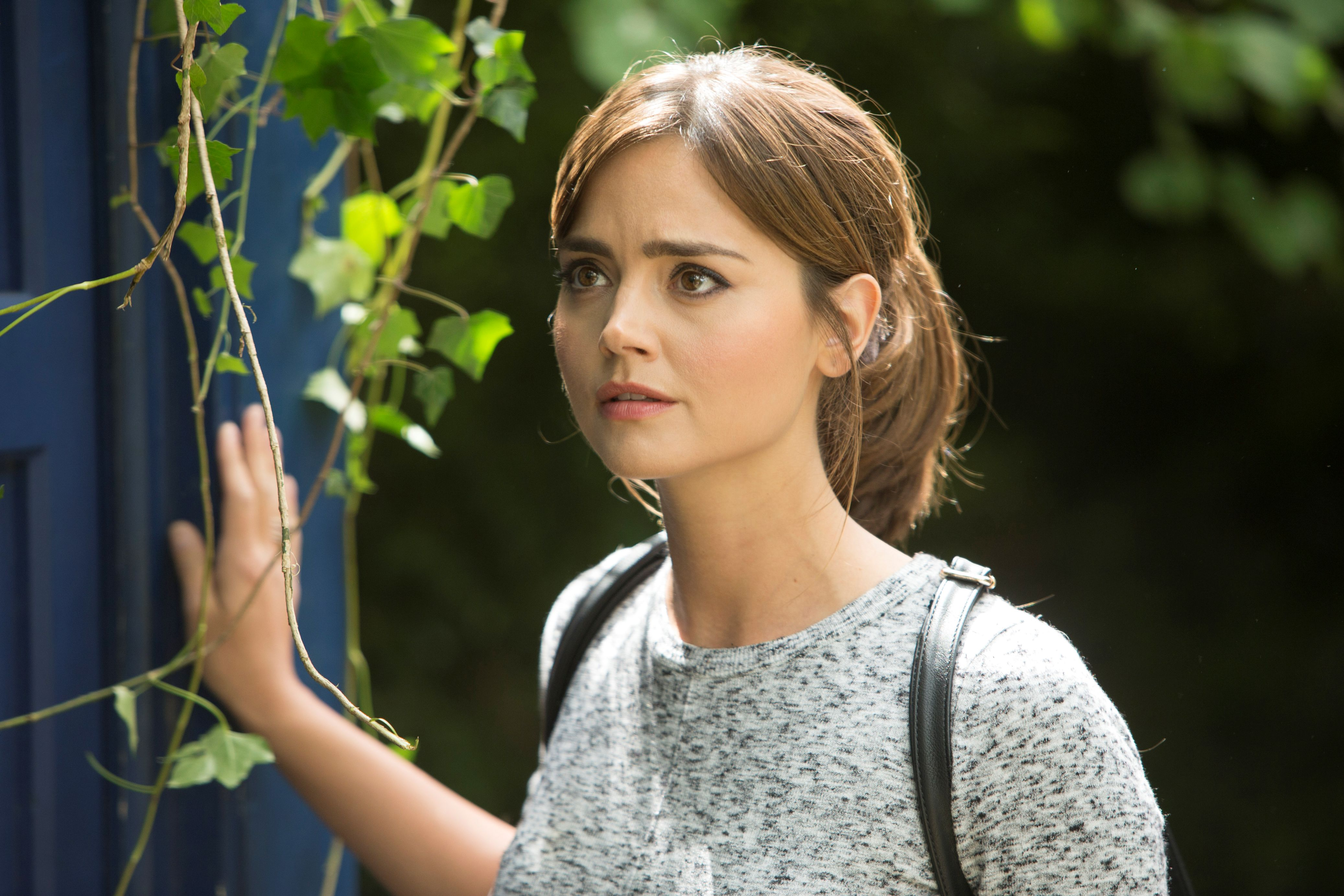 In the Forest of the Night -  Clara (Jenna Coleman) (Credit: Adrian Rogers, BBC/BBC Worldwide 2014)