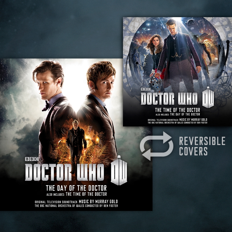 The Day Of The Doctor / The Time Of The Doctor (Credit: Silva Screen Records)
