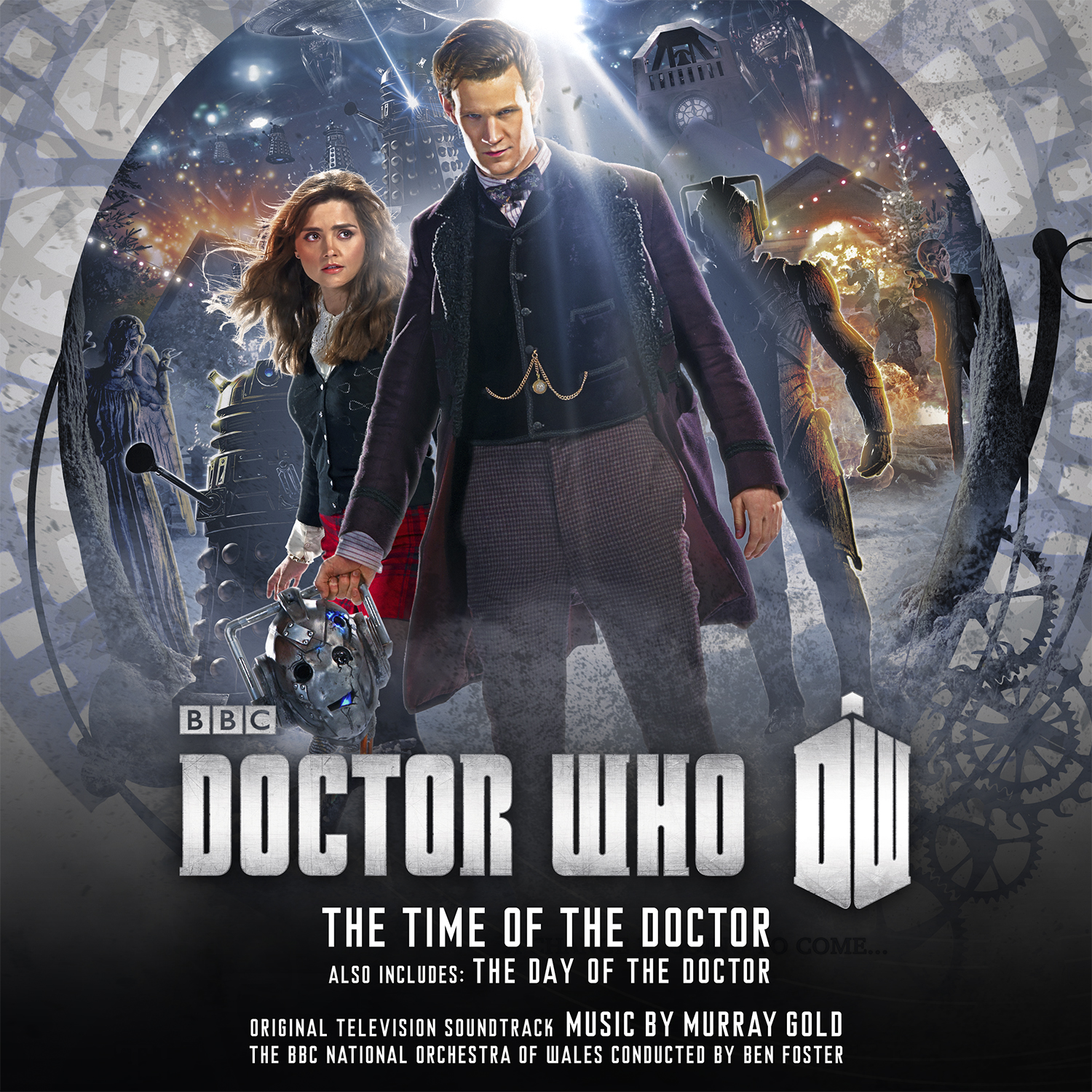 The Time of the Doctor (Credit: Silva Screen Records)