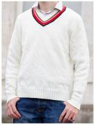 Fifth Doctor Cricket Sweater (Credit: Lovarzi)