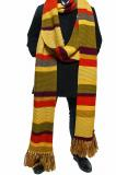 Fourth Doctor Scarf 18 ft Long Season 16 - 17 (Credit: Lovarzi)