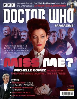 Doctor Who Magazine 480 (Credit: BBC/Panini UK/Doctor Who Magazine)