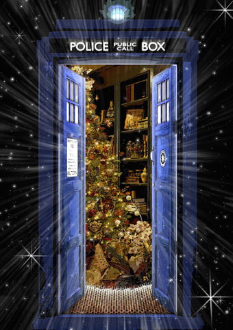 DWAS 2014 Christmas Card (Credit: Doctor Who Appreciation Society)
