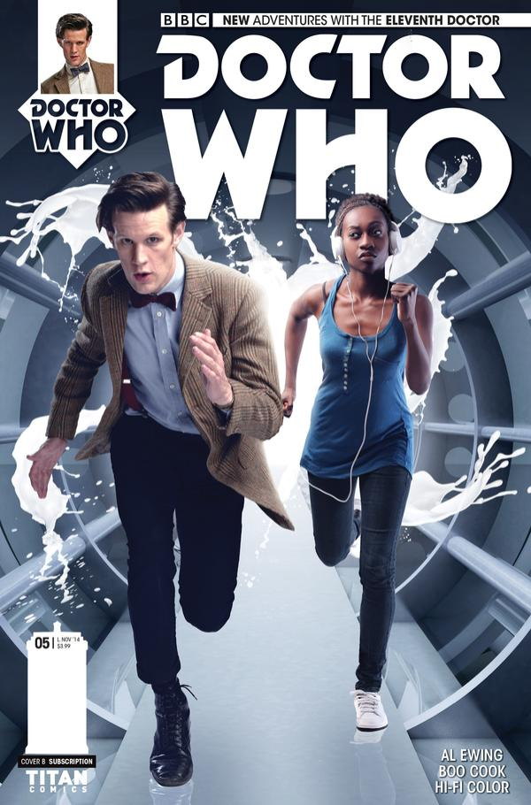 THE ELEVENTH DOCTOR 5 (Credit: Titan Comics)