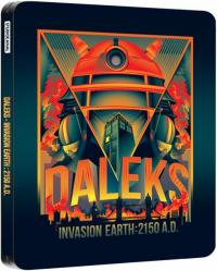 Daleks - Invasion 2150AD Bluray Limited Edition Steelbook (Credit: Zavvi/SteelbookBluray)