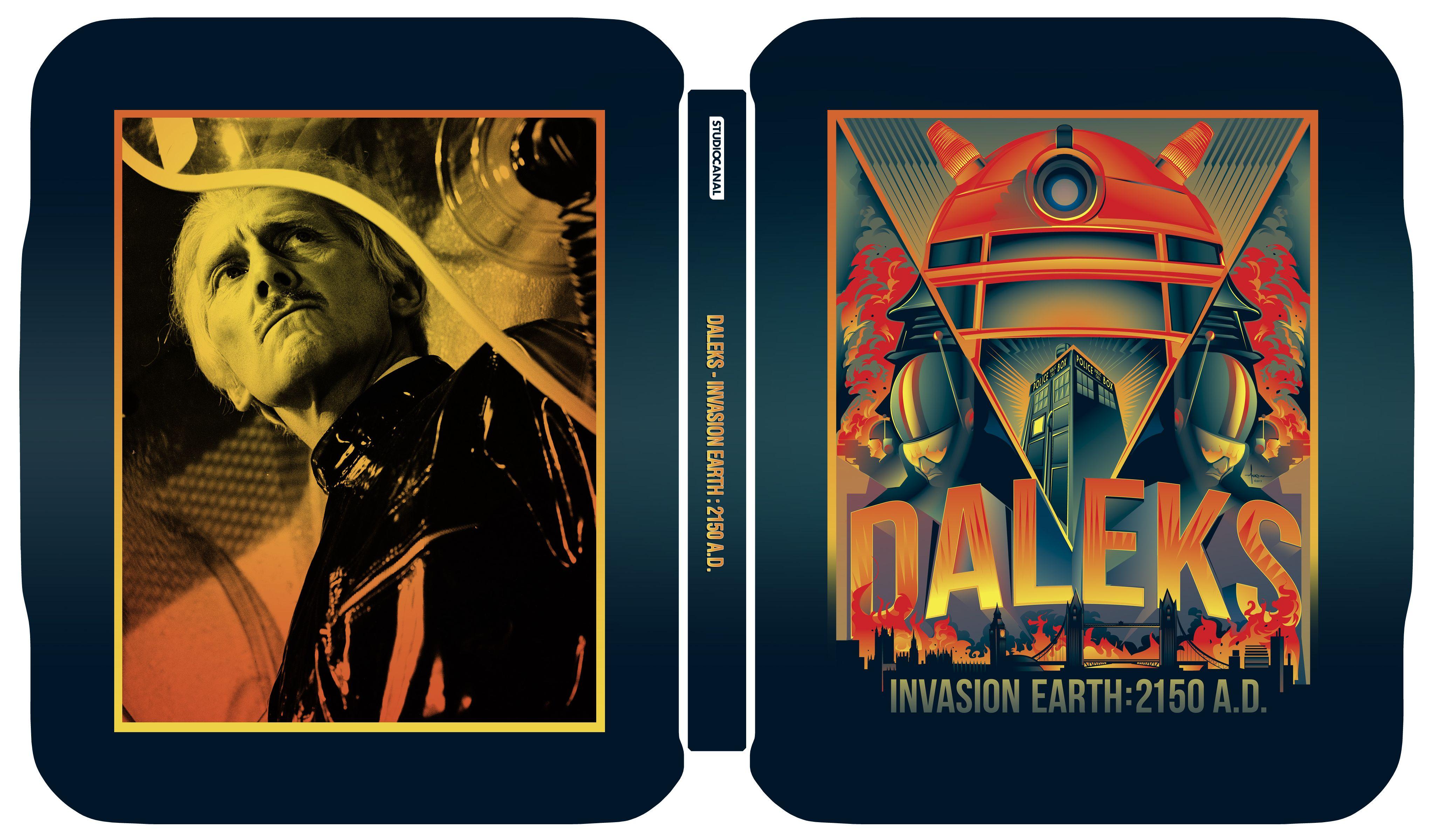 Daleks - Invasion 2150AD Bluray Limited Edition Steelbook (Credit: Zavvi/SteelbookBluray)