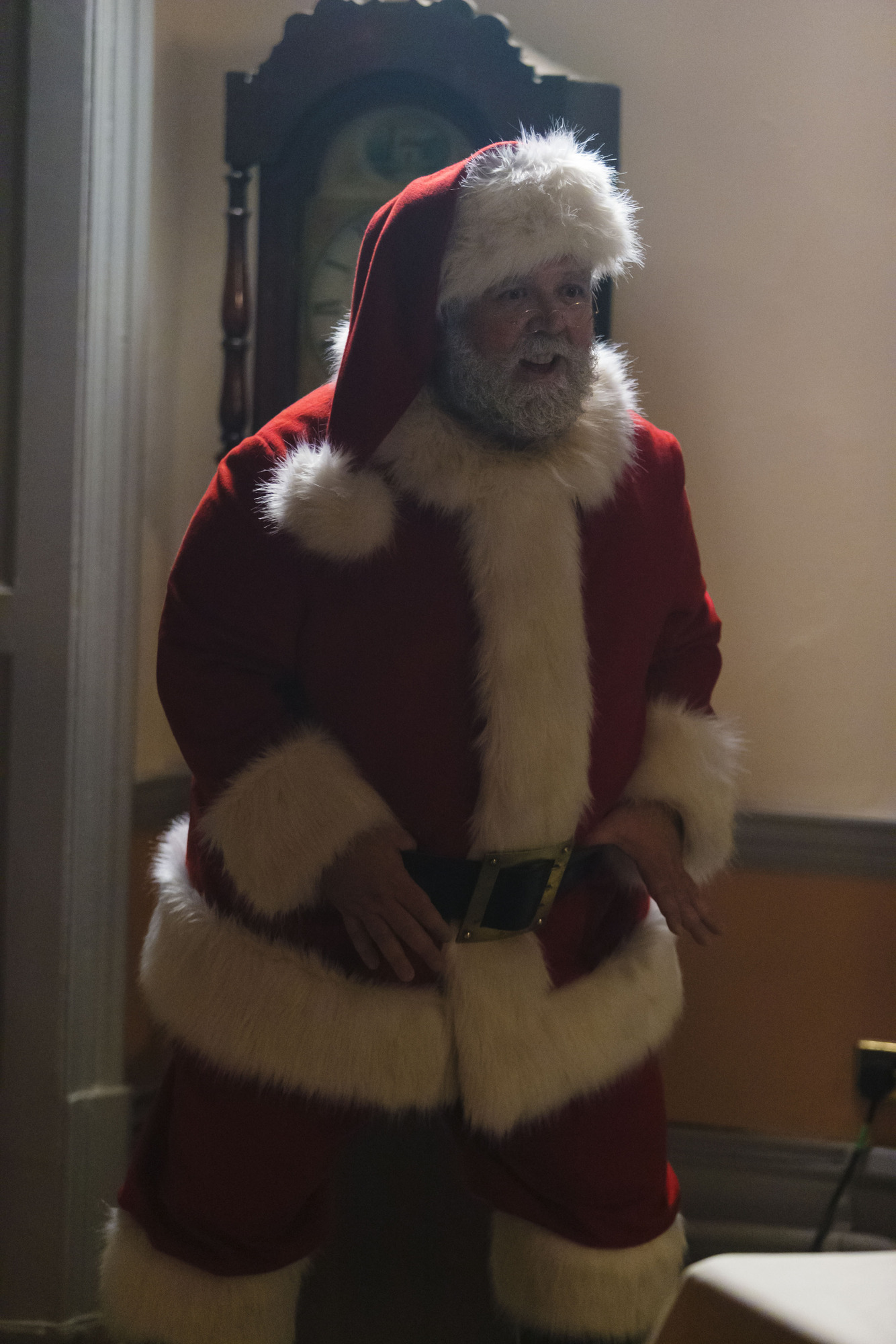 Santa Claus (NICK FROST) (Credit: BBC / Adrian Rogers)