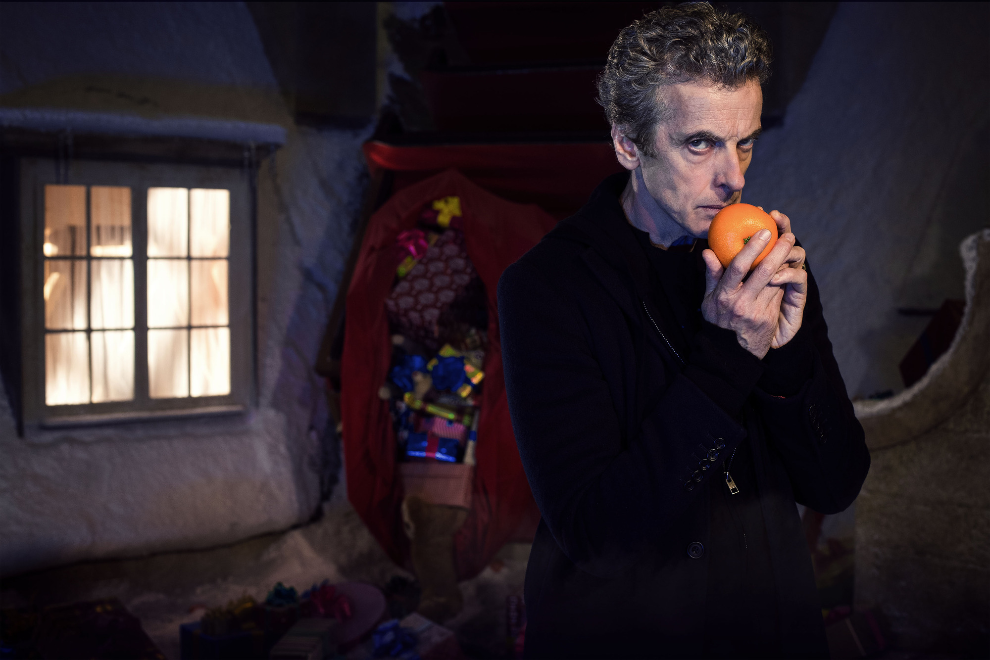 Doctor Who (PETER CAPALDI) (Credit: BBC / David Venni)