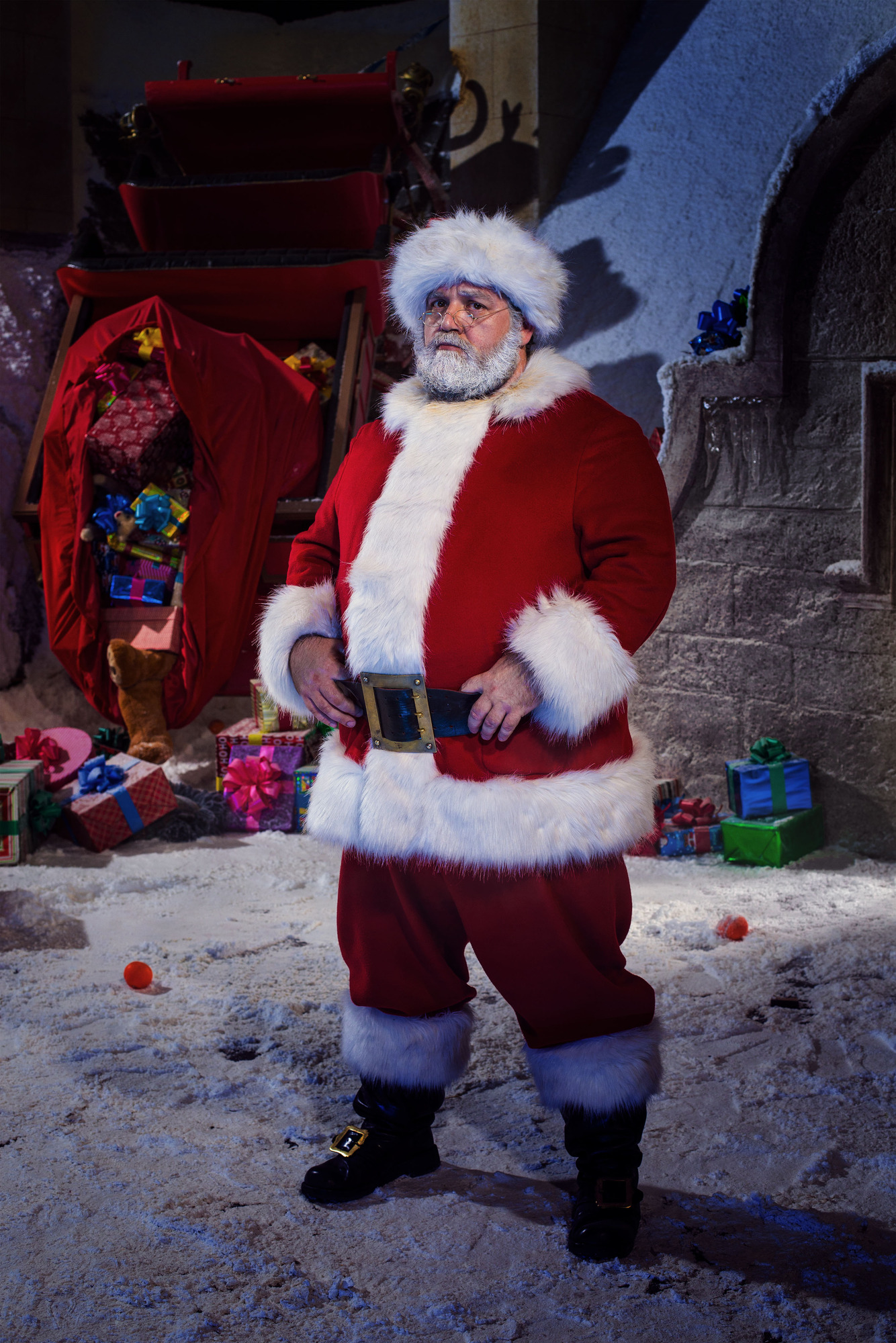 Santa Claus (NICK FROST) (Credit: BBC / David Venni)