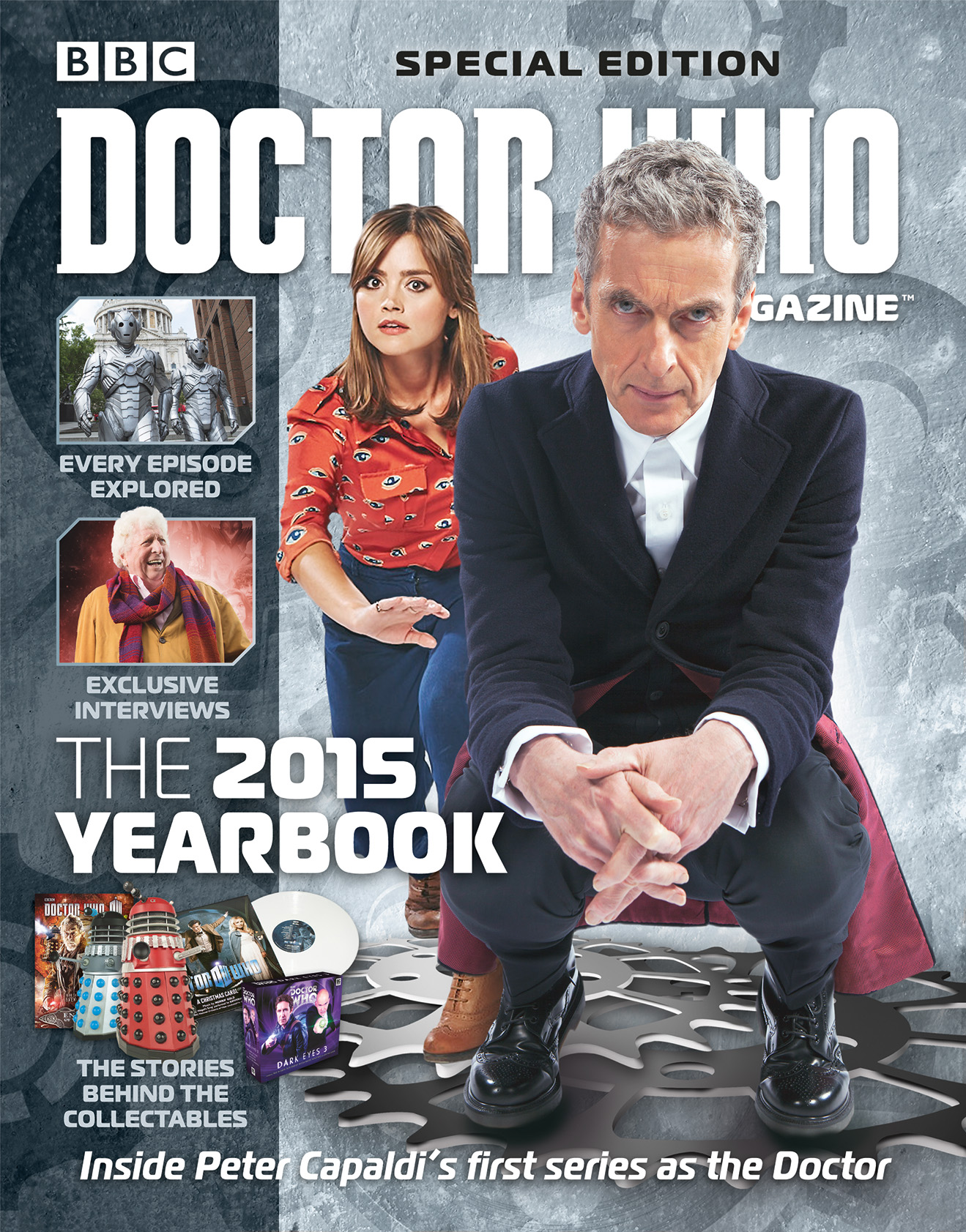 The 2015 Yearbook (Credit: Doctor Who Magazine)