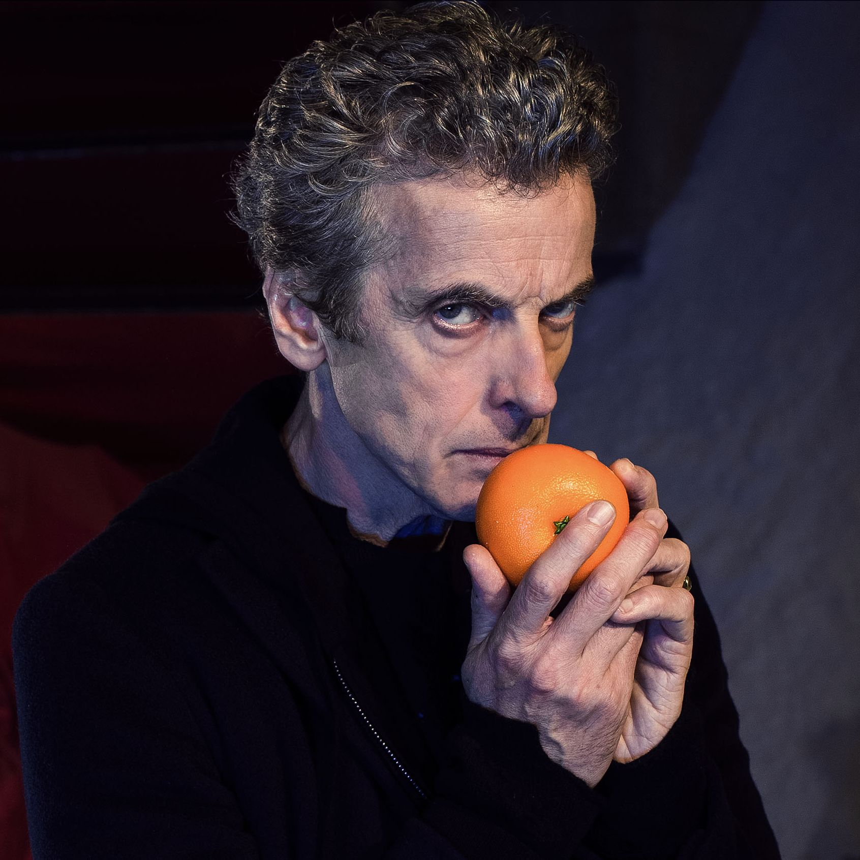 Peter Capaldi as the Doctor (Credit: BBC/David Venni)
