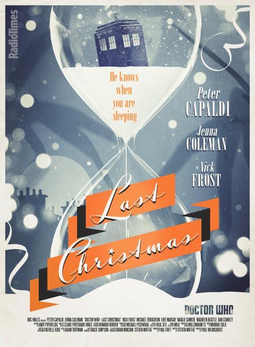 Last Christmas - Radio Times Poster  (Credit: Radio Times/Stuart Manning)