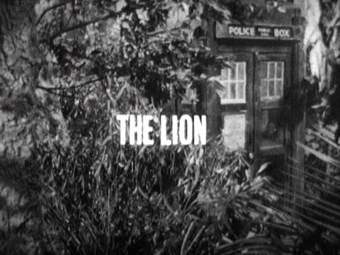 The Lion - title caption (Credit: BBC)