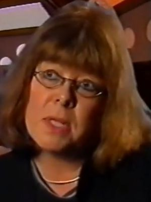Sue Malden interviewed on Amazing Luck Stories, 10 Feb 1999 (Credit: BBC)