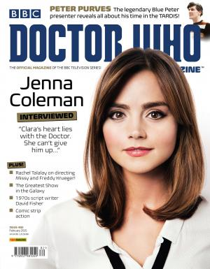 Doctor Who Magazine Issue 482 (Credit: Doctor Who Magazine)