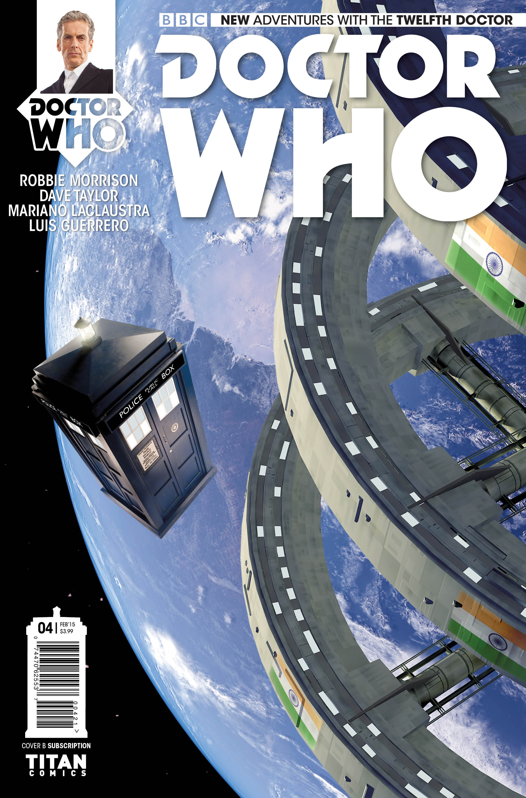 Doctor Who: The Twelfth Doctor #4 (Credit: Titan)