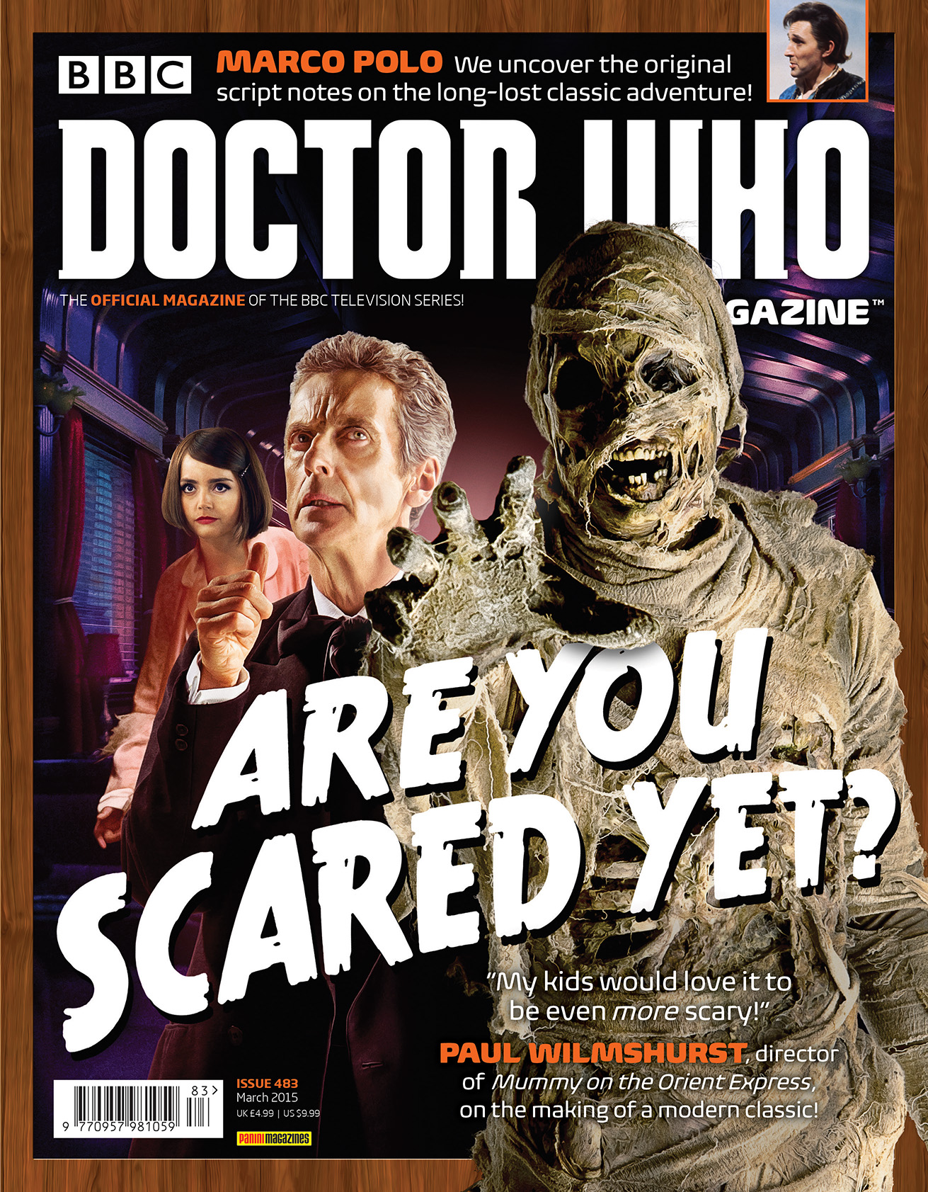 Doctor Who Magazine 483 (Credit: DWM)