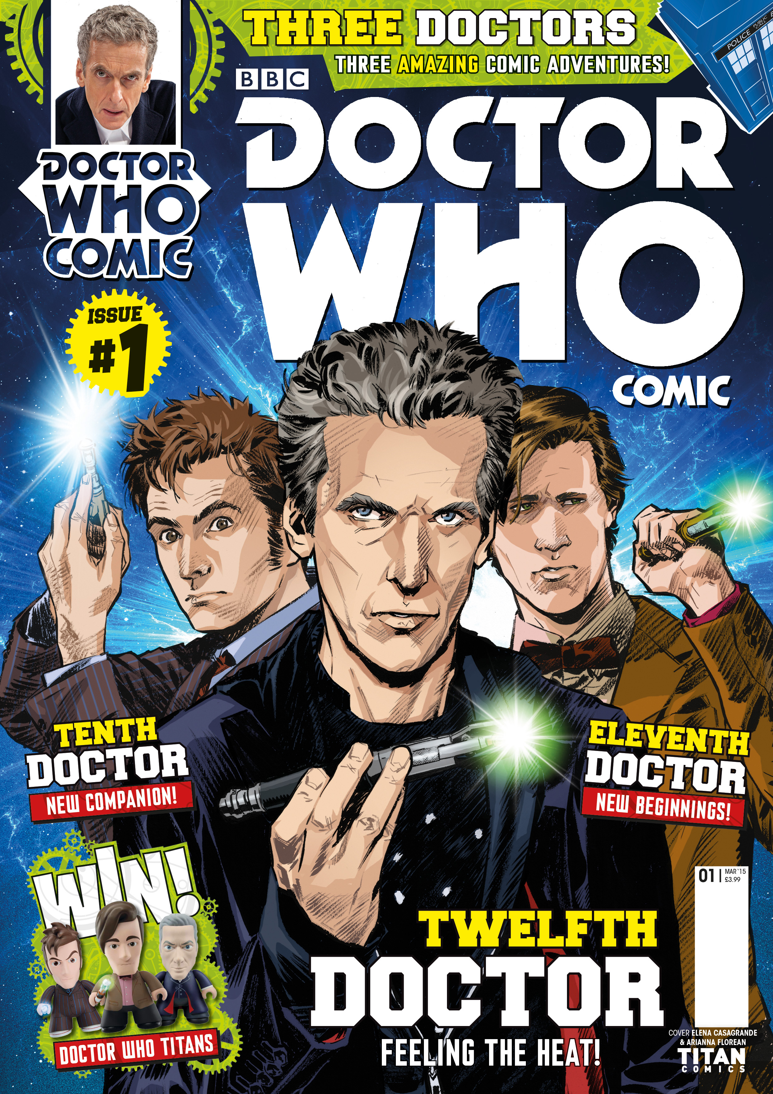 Doctor Who Comic UK (Credit: Titan)