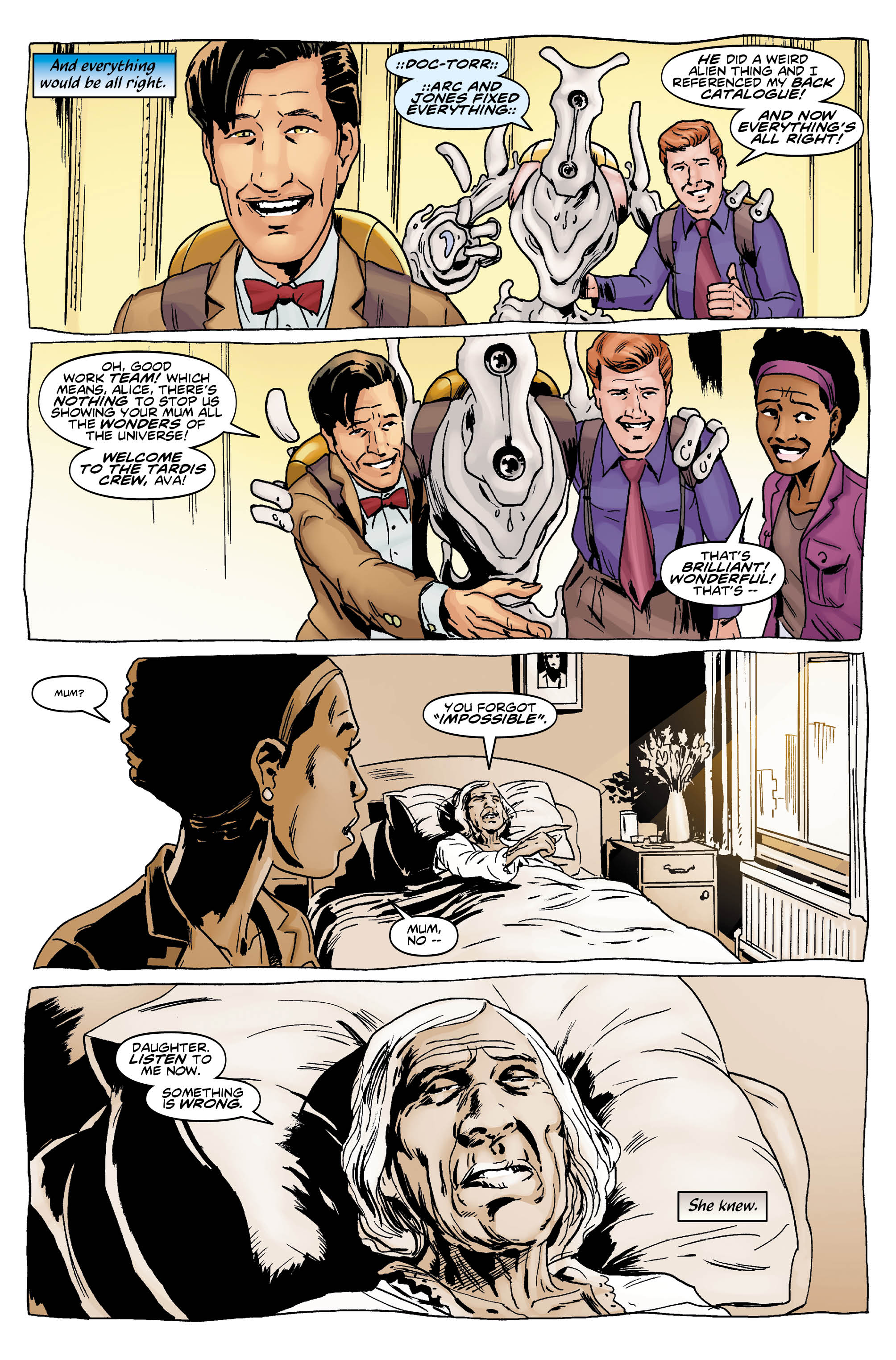 The Eleventh Doctor #8 (Credit: Titan)
