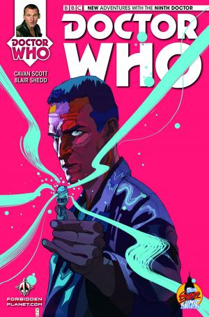 Ninth Doctor LSCC Exclusive Cover (Credit: Titan)
