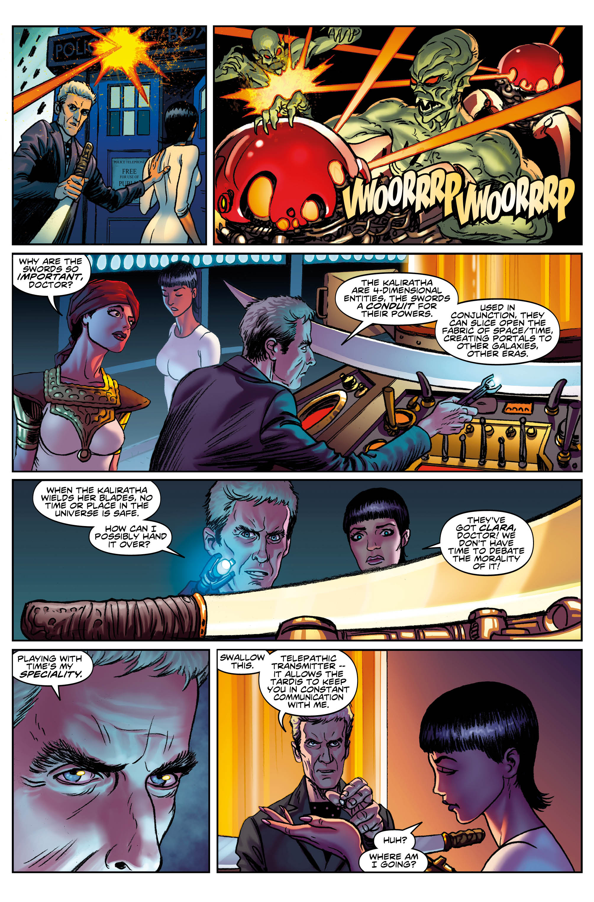 The Twelfth Doctor issue #5 (Credit: Titan)