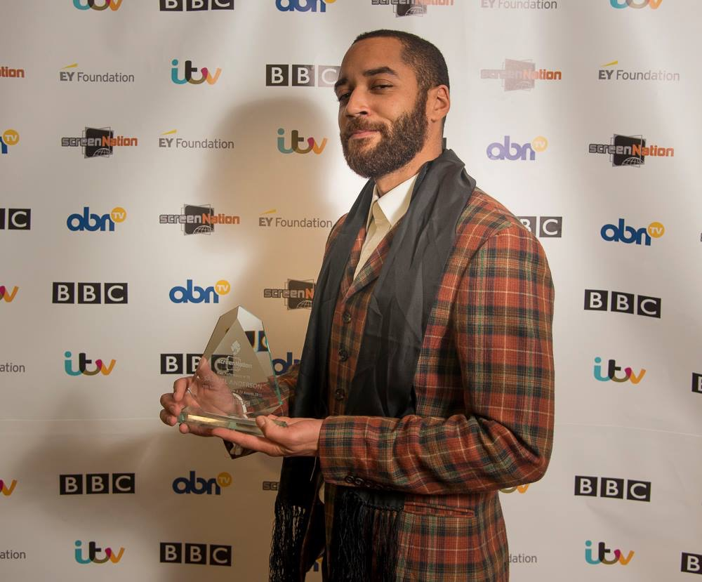 Samuel Anderson  (Credit: Screen Nation Awards)