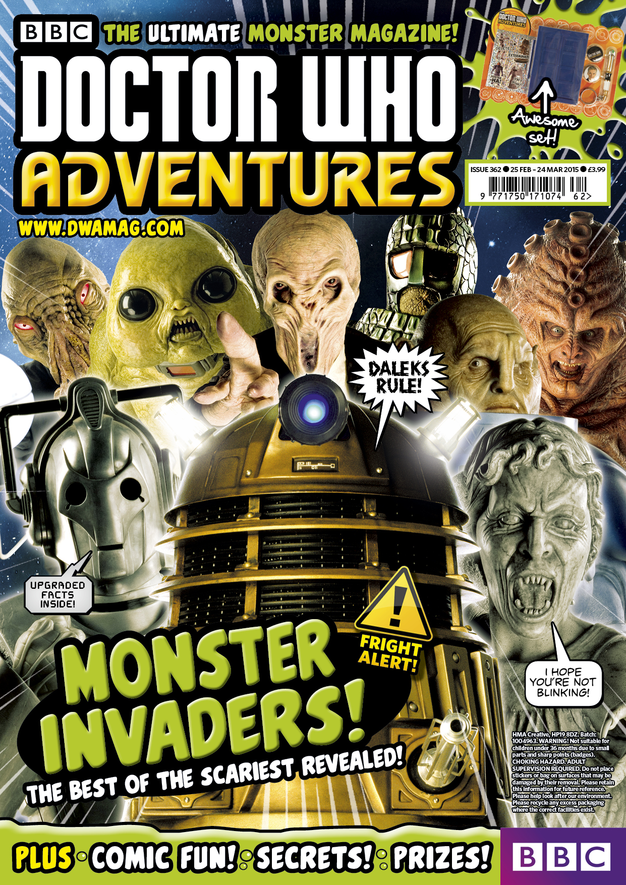 Doctor Who Adventures 362