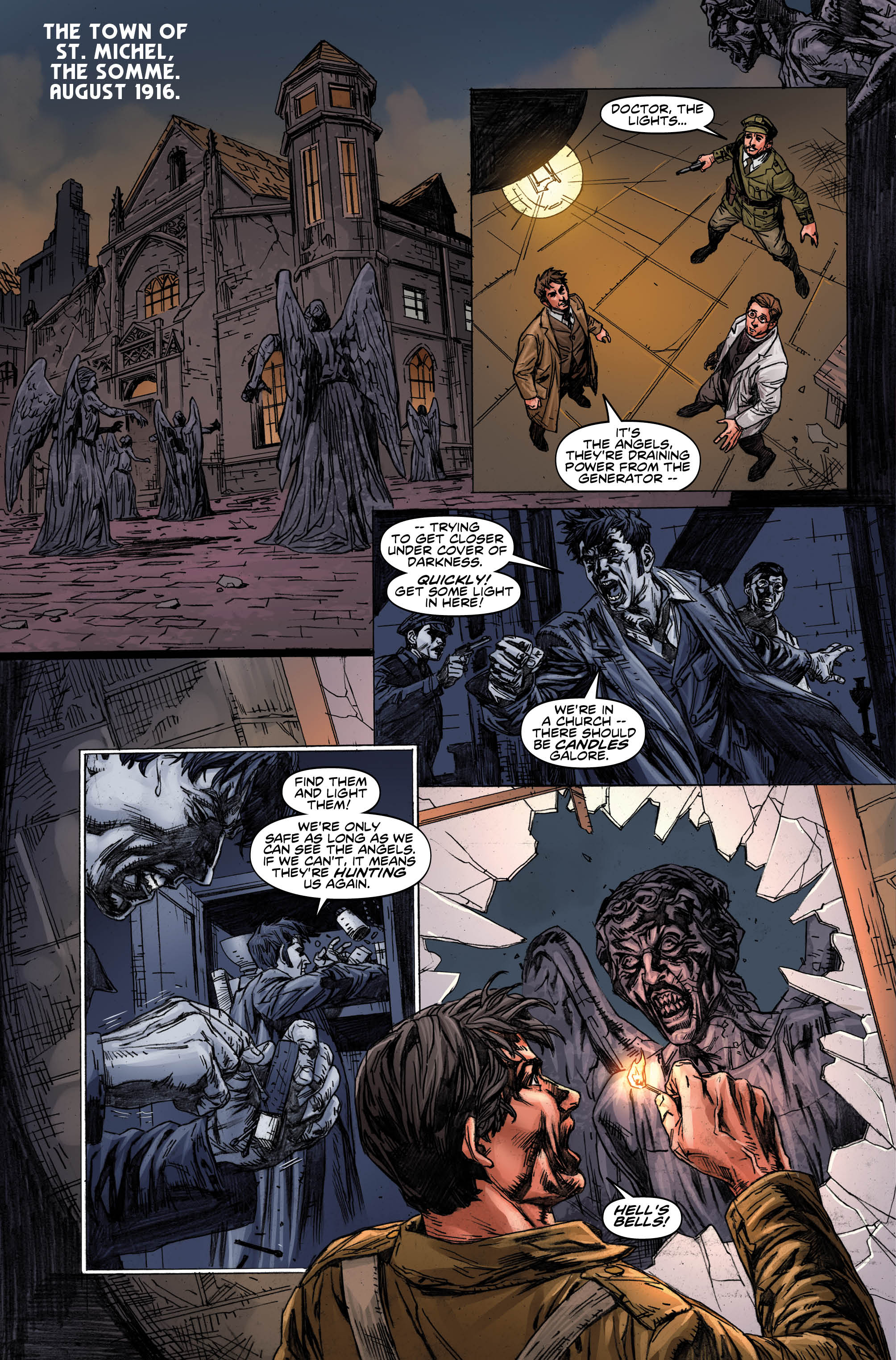 The Tenth Doctor issue #8 (Credit: Titan)