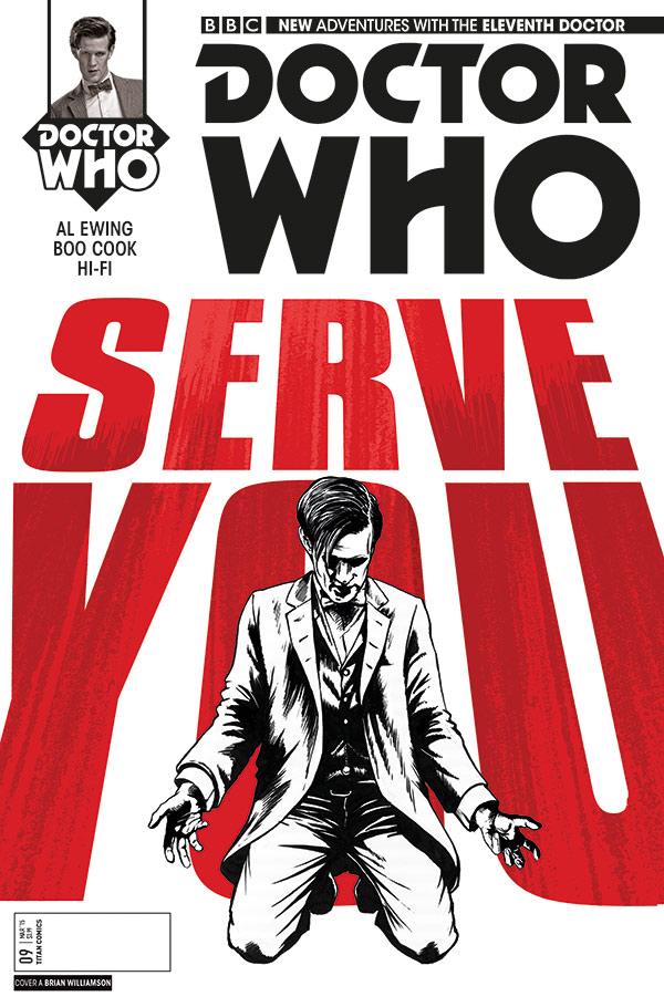 Eleventh Doctor issue #9 (Credit: Titan)