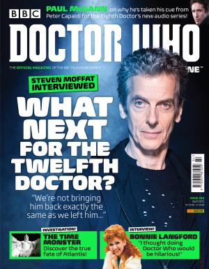Doctor Who Magazine Issue 484 (Credit: DWM)