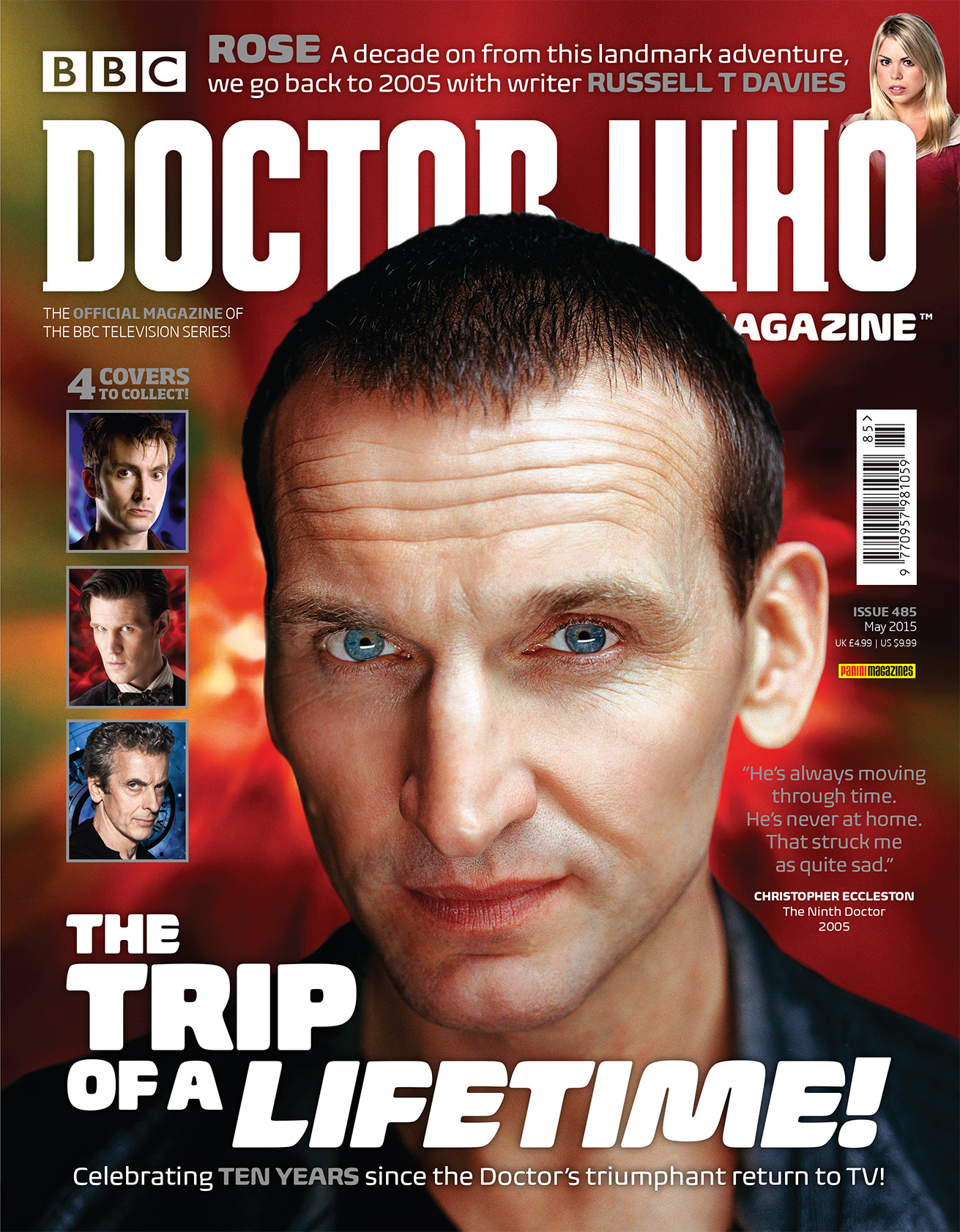 Doctor Who Magazine Issue 285 (Ninth Doctor cover) (Credit: Doctor Who Magazine)