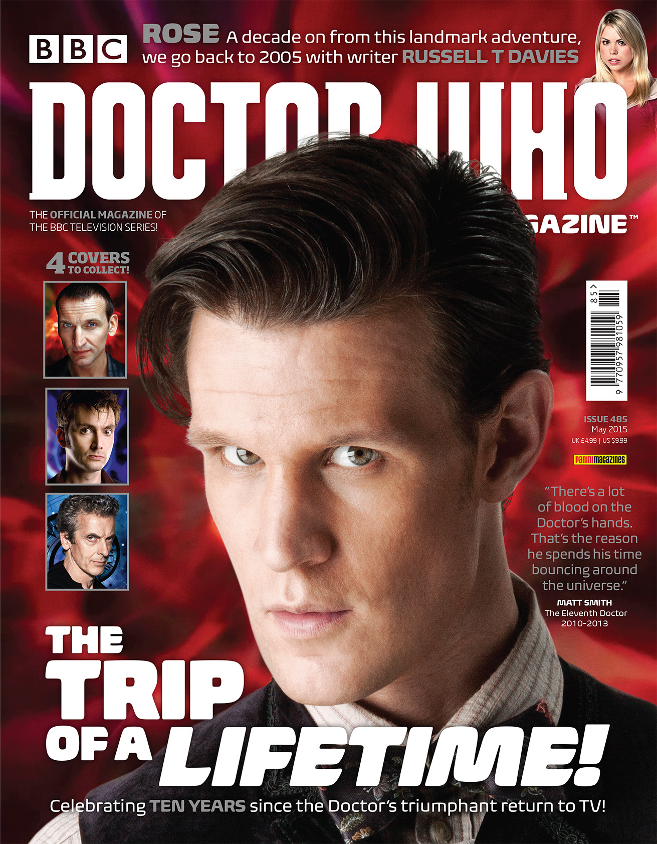 Doctor Who Magazine Issue 285 (Eleventh Doctor cover) (Credit: Doctor Who Magazine)