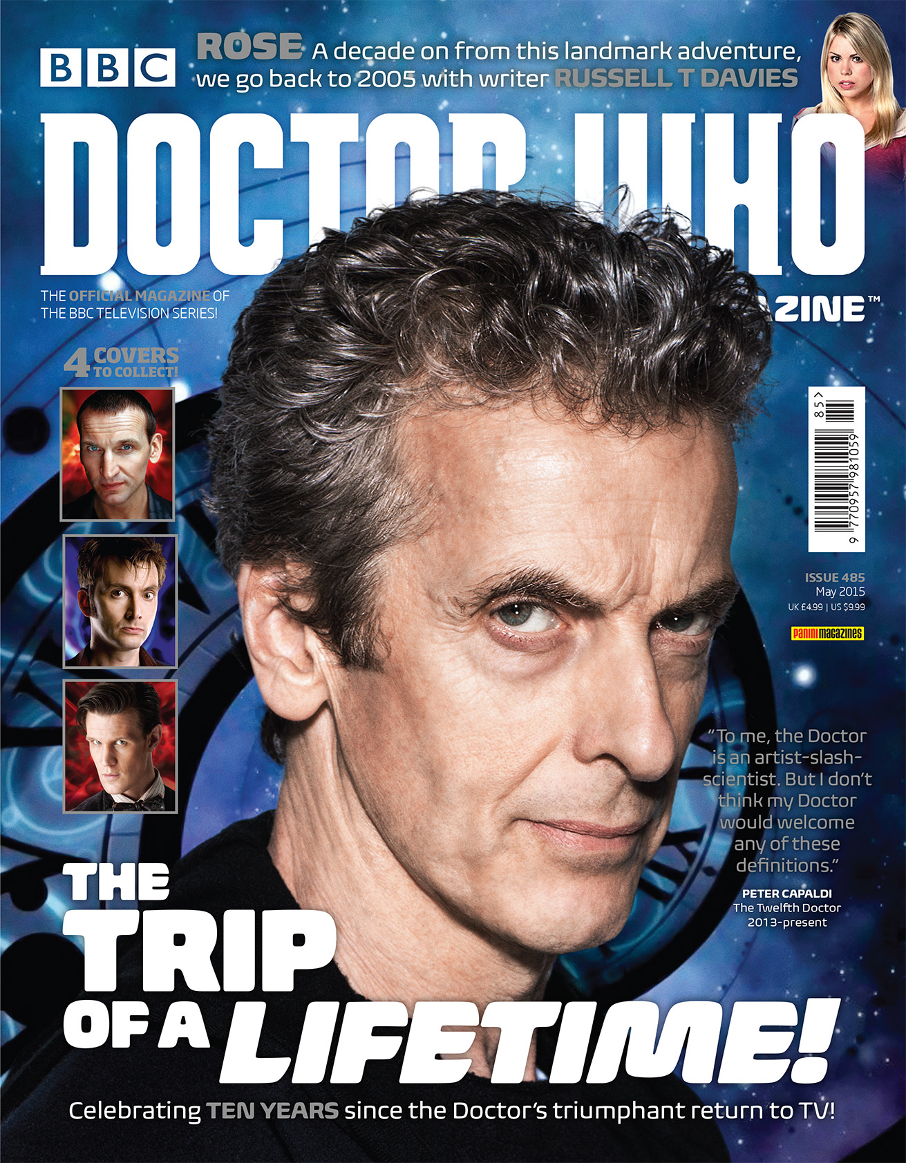 Doctor Who Magazine Issue 285 (Twelfh Doctor cover) (Credit: Doctor Who Magazine)